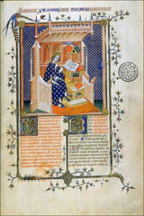 Denis Foulechat reads John of Salisbury: Paris, 14th century