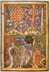 illustrated manuscript page